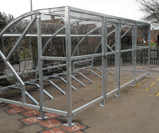 20 cycle storage shelter compound