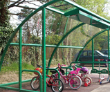 Cycle and Scooter storage shelter