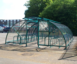 40 cycle storage shelter compound