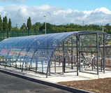 48 cycle storage shelter compound